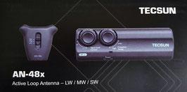 TECSUN AN-48x Aktivantenne -regelbar XL