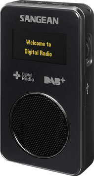 SANGEAN DPR 36 DAB+ /UKW-RDS Reiseradio mit Aufnahmefunktion