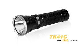 Taschenlampe Fenix TK41 C , leuchtet in weiss, rot, blau inkl. 8x AA Mignon Batterien