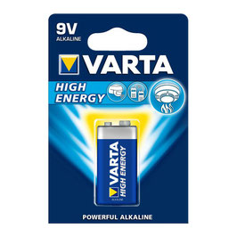 9V Block Varta Batterie High Energy