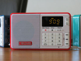 TECSUN  Q3 / D Radiorekorder/ MP3 Audioplayer