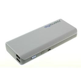 Powerbank Akku/Externer Akkupack/ inkl.USB-Kabel /11000mAh