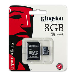 Kingston Speicherkarte microSDHC Class 4 8GB