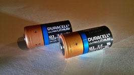 CR123A Duracell Ultra Photo Batterie Typ CR123/A