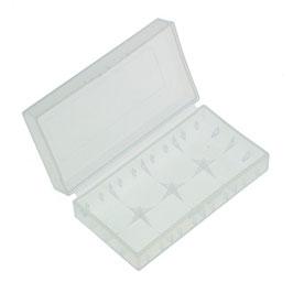 Akku-Box/ Transportbox  für bis zu 2x  LI-ION Akkus Typ 18650