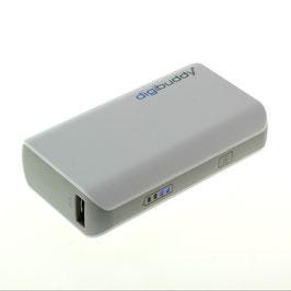 Powerbank/ Akku/ Externer Akkupack/inkl.USB-Kabel/4400mAh