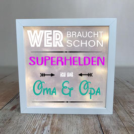 "Lightbox ""Superhelden"""