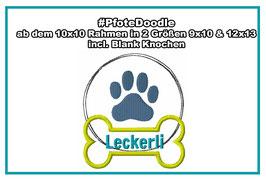 Doodle/Applikation #PfoteLeckerli