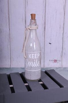 LED Flasche #KeepSmile