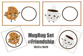 MugRug #Friendship 8 Dateien 2 Größen