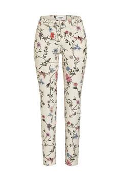 CAMBIO | Jeans Paris short - natur/floral