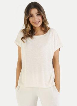 JUVIA | Shirt kurzarm - weiß