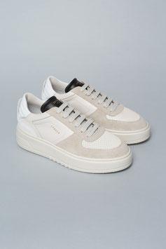 COPENHAGEN | Leather Mix Sneakers - eggshell
