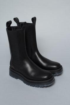 COPENHAGEN | Boots Vitello - black/clear