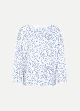 JUVIA | Sweatshirt - white leo