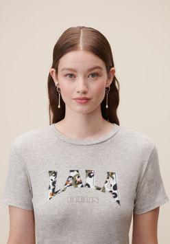 LALA BERLIN | T-Shirt Reda - grey melange