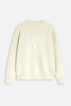 CLOSED | Sweatshirt 24/7 - almond cream