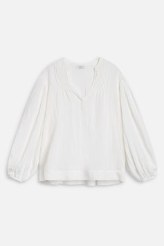 CLOSED | Voile Bluse Fallon - ivory