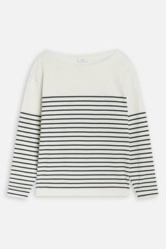 NEW IN! CLOSED |  Striped Longsleeve - white/dark night
