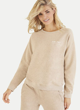 JUVIA | Sweatshirt Capri - camel melange