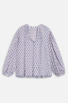 CLOSED | Voile Bluse - Print