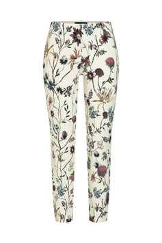 CAMBIO | Ross cropped - floral/creme