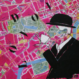Série City Map -  London So British tea time