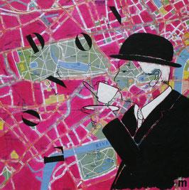Série City Map -  London So British tea time
