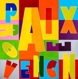 Série Aix-en-Provence- Typo AIX-EN-PROVENCE