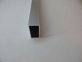 Vierkantrohr 40 x 80 x 3 mm eloxiert in 200 cm