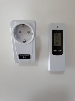 Digitales Wireless Steckdosenthermostat mit LCD-Display