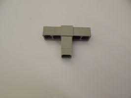 T-Verbinder für 20x20x1,5 mm in grau