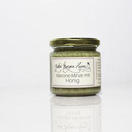 Marone Minze mit Honig