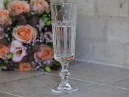 Antoinette Champagnerglas m. Perlenkante