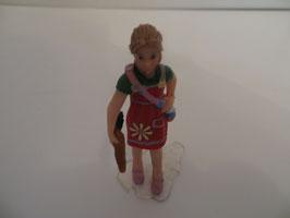 Schleich Mädchen mit Karotte 2011