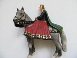 Schleich Königin auf Pferd, 2005
