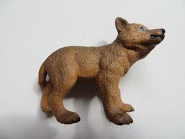 Schleich Wolfjunges braun, 2014
