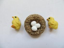 Schleich Küken mit Eiern