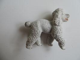 Schleich weißer Pudel,1999 absolute Rarität