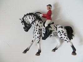 Schleich Reiterin auf Knabstrupper, 2014