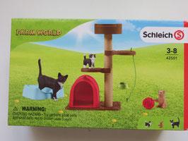 Schleich Spielspaß für niedliche Katzen, 2020