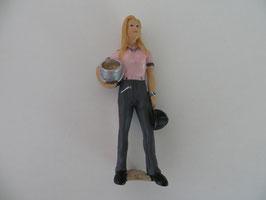 Schleich Pferdepflegerin rosa T-Shirt