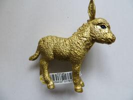 Schleich goldener Esel