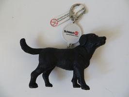 Schleich Labrador schwarz, Schlüsselanhänger, Rarität