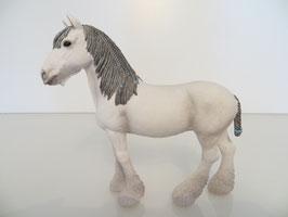 Schleich Pferd weiß vom Pferdestall 42485