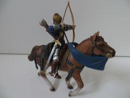 Schleich Bogenschütze auf Pferd Löwengruppe, 2003