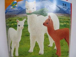 Schleich Alpakafamilie, 2021