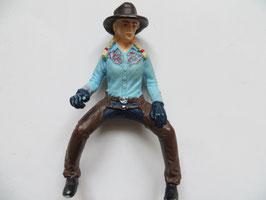Schleich Cowgirl blau