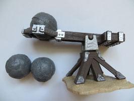 Schleich Katapult mit drei Kugeln, 2014