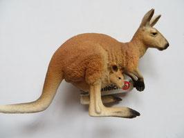 Schleich Känguru mit Jungen, 2015